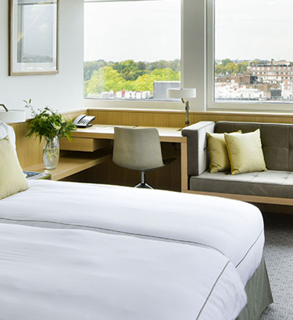 Deluxe room with a view near Hyde Park