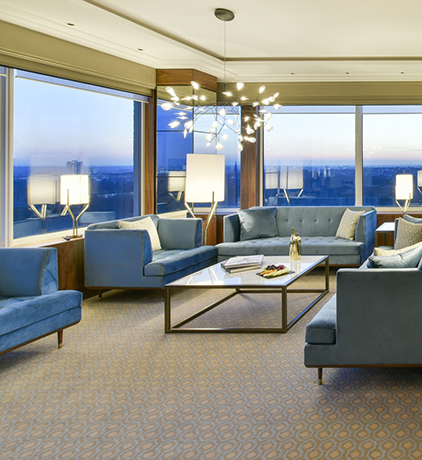 Signature Suite with views over Hyde Park and London Skyline