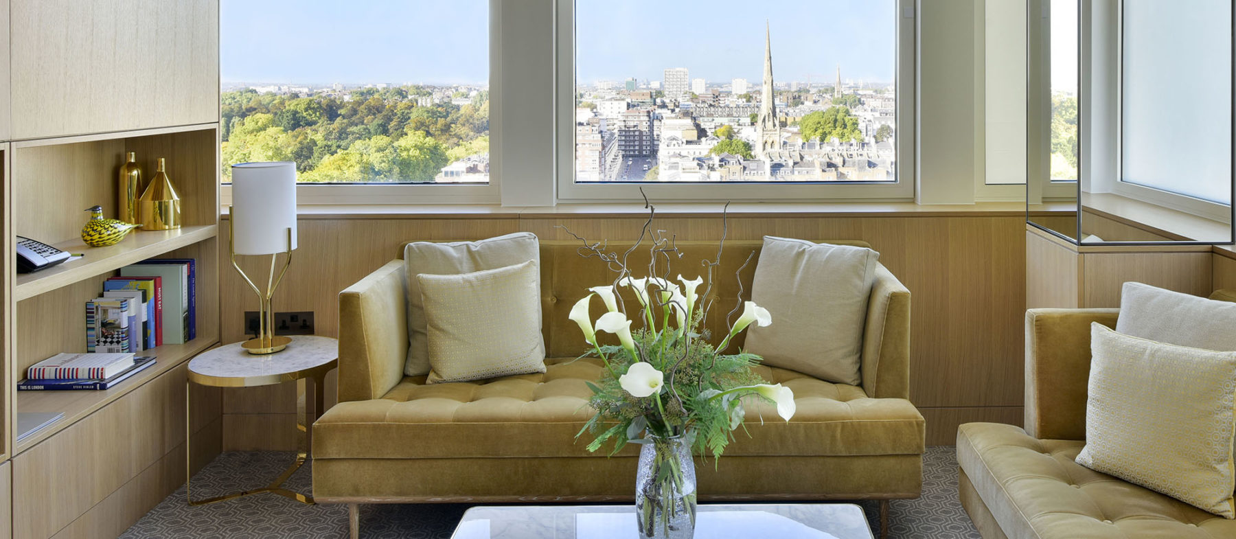 Luxury Suite with a view London