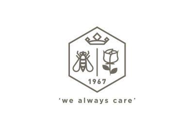 We Always Care Crest