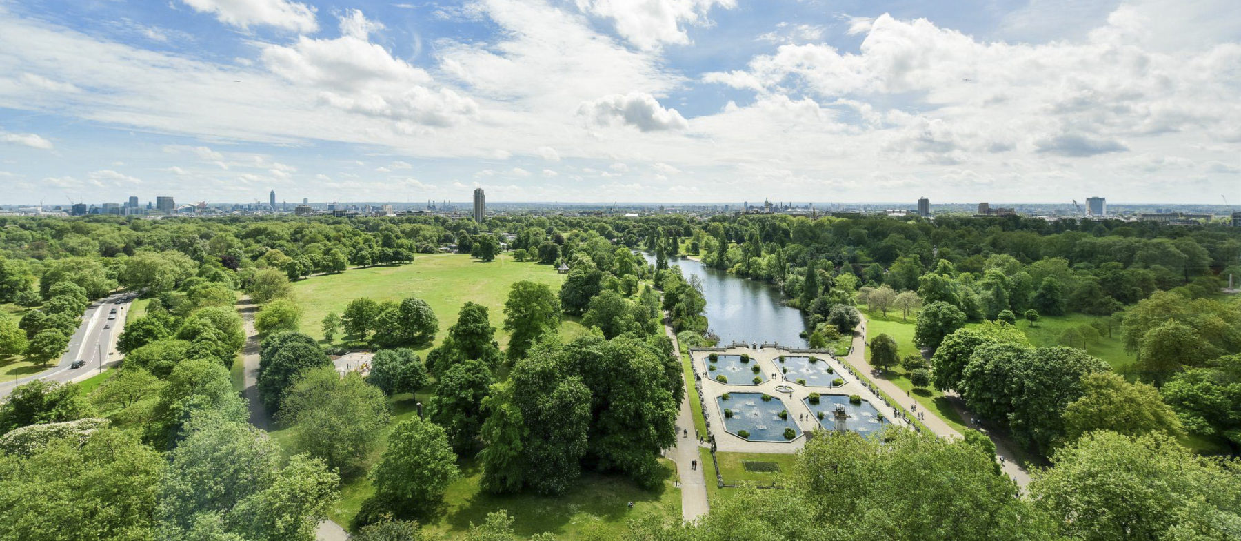 Hyde Park Hotels with a view