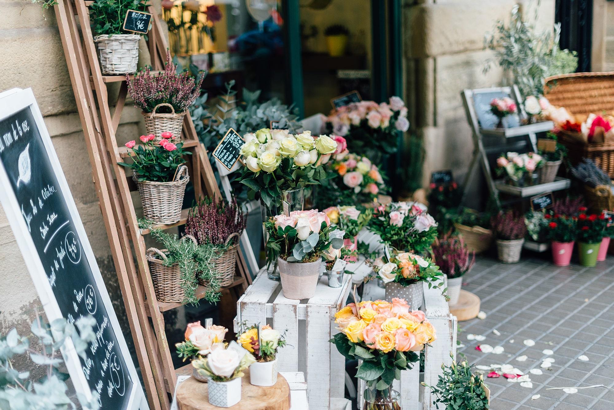 Columbia Flower Market, London